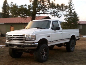 1995 ford f250 powerstroke 3500 firm need gone