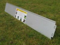 39 metres of Garden Border Lawn Edging Metalfence with easy assembly Click-Fix-System