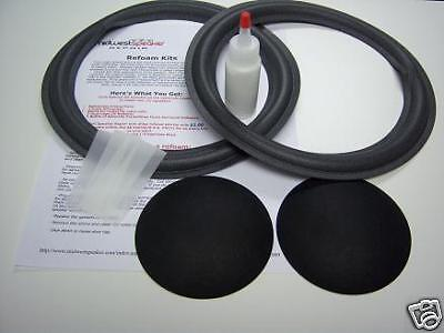 "JBL Decade L26 L36 10"" Woofer Foam Kit - Speaker Repair - FREE SHIPPING!"