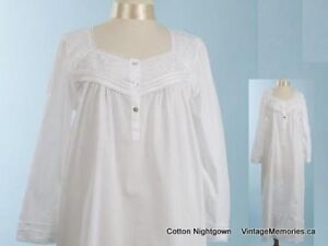 Brand New Comfy n Sexy Victorian style 100% Cotton nightgown