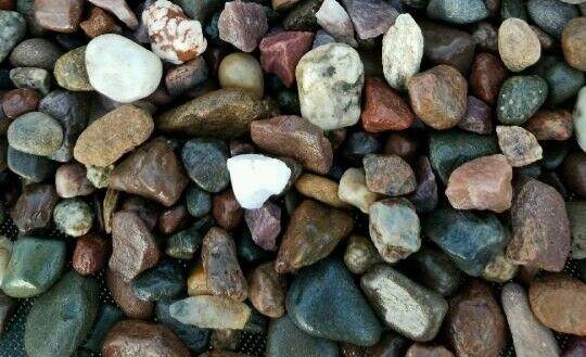 5 lbs Natural  Aquarium Fish Tank Gravel, Pebbles and  color stones