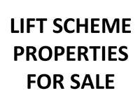 LIFT SCHEME Properties FOR SALE - Landlord Retiring: 1,2 and 3 bedroom properties FOR SALE