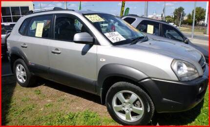 Hyundai Tucson Wagon 2006. PAY $50 P/W. CASH $6950.