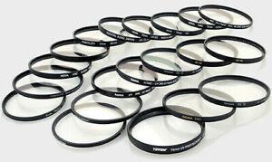 82mm,77mm ,72mm ,67mm ,62mm, 58mm ,57mm ,55mm,52mm ,49mm Filters
