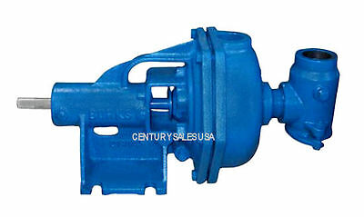 Burks Condensate Turbine Boiler Feed Pump Ec8m E20m 34 Shaft Base Mounted