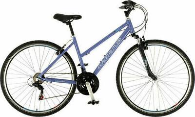 """Claud Butler EXP Low Step Ladies Alloy Hybrid Bike 700c Wheel 20"""" Frame Violet"""