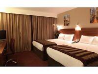 Jury's inn Birmingham city centre hotel twin standard this Saturday 19th November