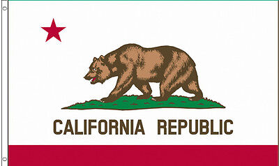 Flag 3X5 CALIFORNIA STATE CA STATES FLAGS ...