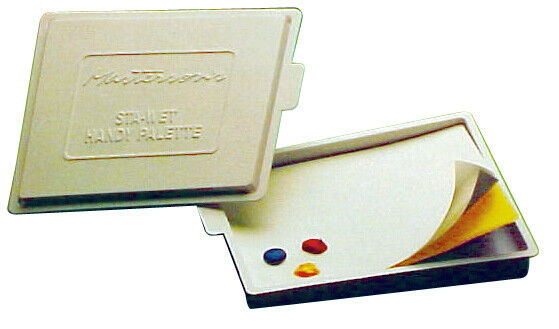 MASTERSON ART PRODUCTS 857 STA-WET HANDY PALETTE WITH LID 8-1/2X7