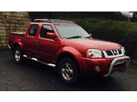 2005 Nissan Navara 3.0 V6 Diesel Pick Up Low Mileage Drive Like New !!