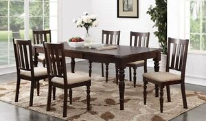 ★BLOW OUT SALE★7PC RUSTIC LOOK DINING SET★NO TAX SALE