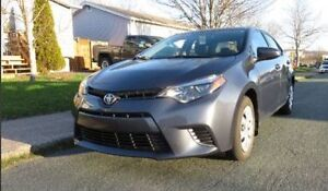 2015 TOYOTA COROLLA - LEASE TAKEOVER!