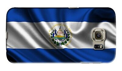 Samsung El Salvador (El Salvador Symbol Flag Samsung Galaxy S4 5 6 7 8 9 10 E Edge Note 3 Plus Case)