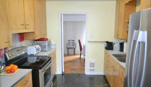 Large bedroom in mature student house