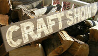 VENDORS WANTED FOR TWO SUMMER CRAFT SHOWS