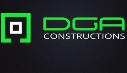DGA constructions  concrete landscaping excavation