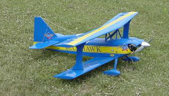 Giant 1/3 Scale Aerobatic Ultimate Biplane Plans, Templates & Instructions 83ws