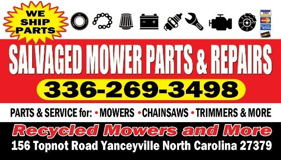 Recycled Mowers And More