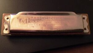 Vintage M. Hohner 'BLUES HARP' Harmonica Made In Germany Key C
