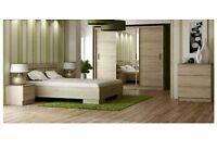Bedroom furniture set SONOMA OAK. £600 or best offer.