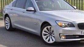 BMW 7 Series 730D SE (Start/Stop) 2013 Silver