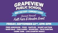 2nd Annual Grapeview School Fall Fair and Vendor Event