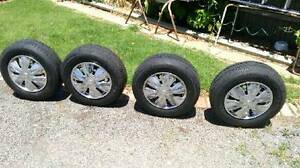 Toyota Camry Wheels and Tyres. Has Ford stud pattern. Set of 4 Balaklava Wakefield Area Preview