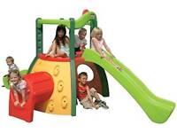 Little tikes double decker super slide - evergreen
