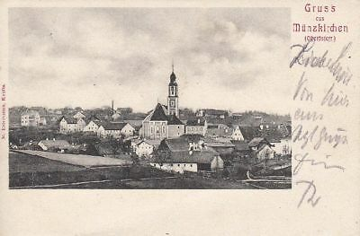 71541/47 - Gruß aus Münzkirchen im Bezirk Schärding im Innviertel um 1905