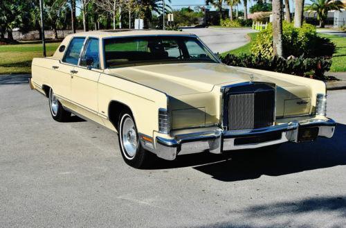 1978 Lincoln Town Car Ebay