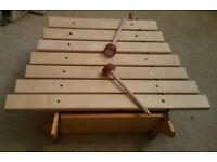 Auris beautiful pentatonic wooden marimba musical instrument