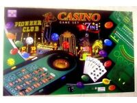 Casino 7 in 1 Game set New