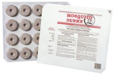 Mosquito Larvae Control - SUMMIT MOSQUITO DUNKS 20 PER CARD BTI MOSQUITO LARVAE CONTROL prevent west Nile
