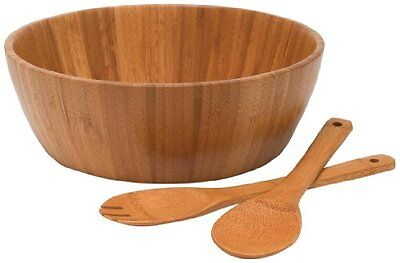 3 - Piece Large Bowl Salad Serving ...