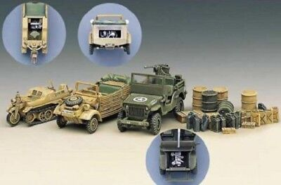 Academy Light Vehicles of Allied And Axis During WWII Model