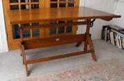 Iron Drafting Table