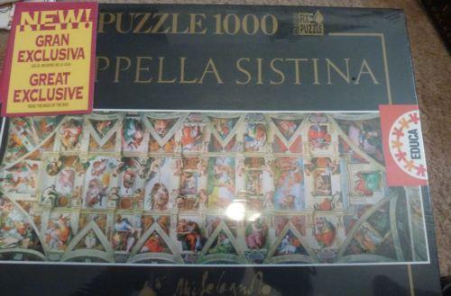 Sistine Chapel Puzzle Ebay