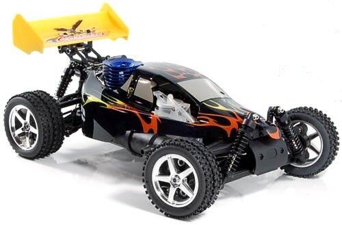 begginers 1 10 self build kit nitro petrol rc remote controlled diy buggy car ebay. Black Bedroom Furniture Sets. Home Design Ideas