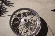 Harley Wire Wheels