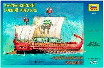 Zvezda 9030 Carthagenian Warship 1/72 Scale