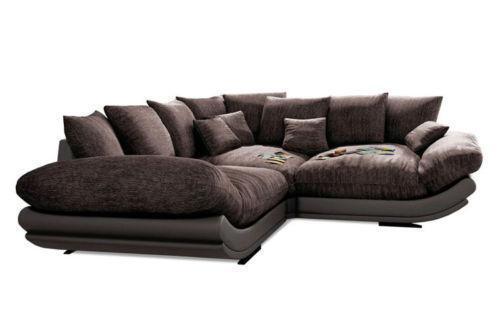 ecksofa xxl sofas sessel ebay. Black Bedroom Furniture Sets. Home Design Ideas