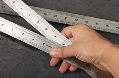 Stahllineale 20 bis 100 cm Stahlmaßstab Metalllineal Lineal Werkstattlineal