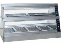 Stainless Steel Food Warmer Passthrough