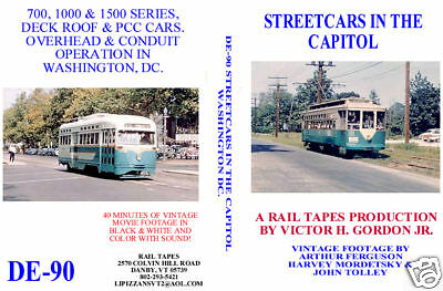 DVD: Streetcars In The Capitol Washington DC Trolleys