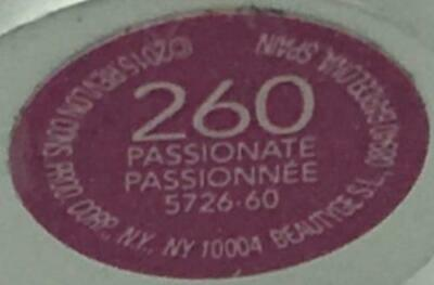2 Revlon MATTE Balm Lip Crayon - PASSIONATE #260