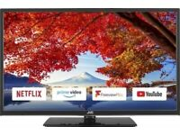 JVC SMART TV 32 INCH WIFI FREE VIEW HD AND PLAY NETFLIX YOU TUBE PRIME HDMI USB BLU RAY PLAYER