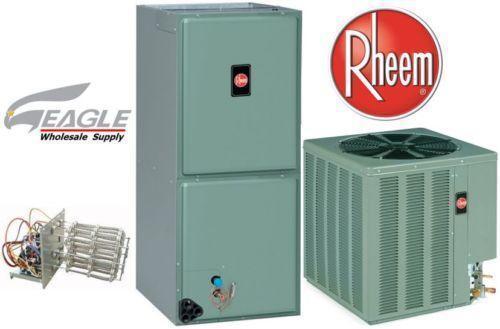 Rheem 16 Seer Heating Cooling Amp Air Ebay
