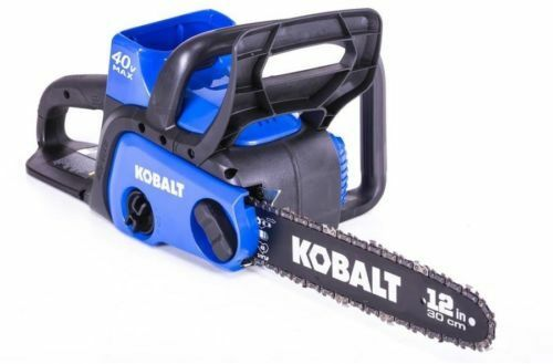 40 Volt Max Lithium Ion 12 In Cordless Electric Chainsaw Bat