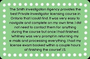 Private Investigator Training Course- With Jobs @ $2,200 Weekly Cornwall Ontario image 7