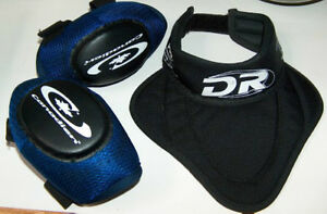 Canadian C45 Elbow Pads plus D and R Neck Guard